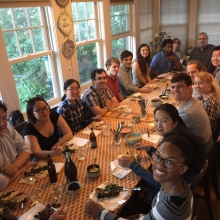 Barbecue at Davie's home, June 2017